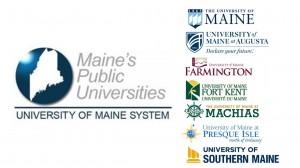 University of Maine System campus logos
