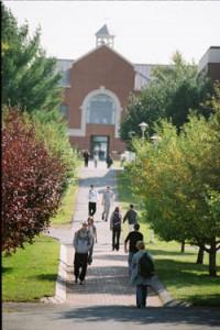 UMPI campus scene