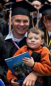 USM grad and son 2013