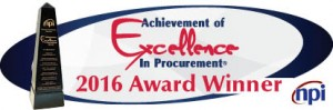 The University of Maine System Strategic Procurement office is a 2016 recipient of the National Procurement Institute Award of Excellence in procurement.